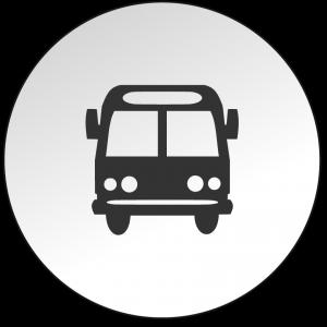 Icon Bus - Anfahrt mit der Bus